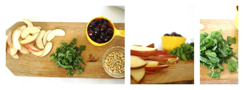 Ermagerd, a collage of ingredients! Fancy.