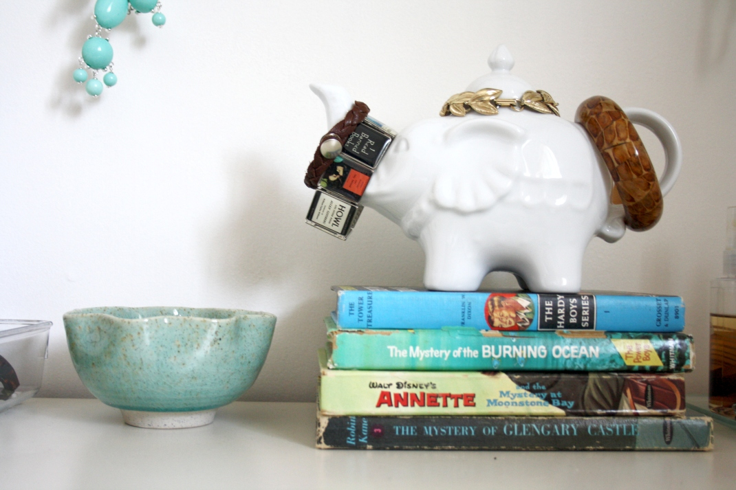 Who doesn't love an elephant and The Hardy Boys?