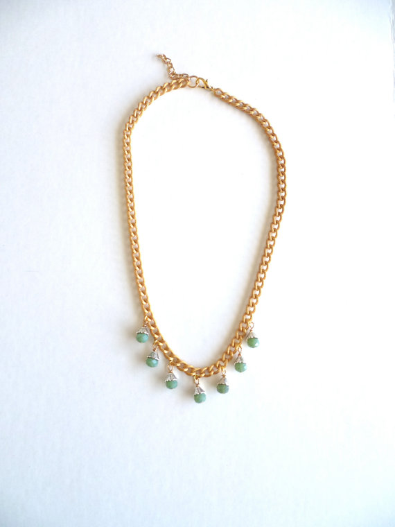 Grace - crystal and mixed necklace